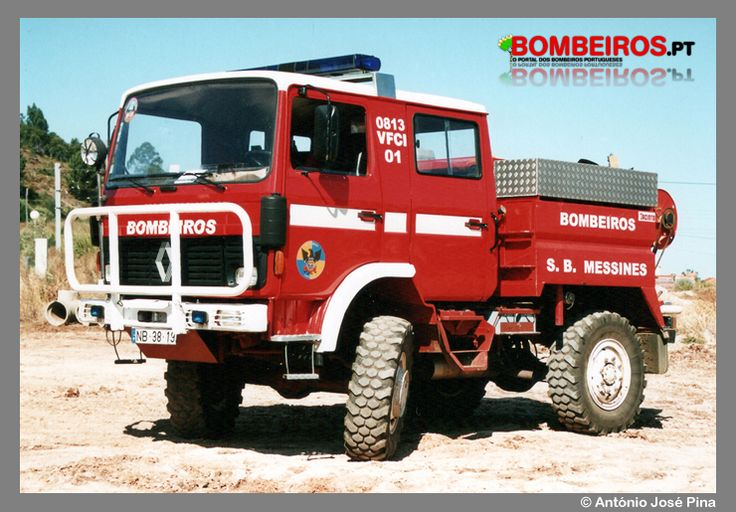 Bombeiros Voluntários de S. Bartolomeu Messines - 0813 VFCI 01 - Renault