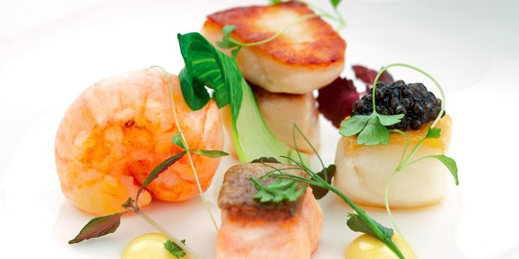 This recipe is Mark Jordan's interpretation of classic bouillabaisse.  He has remained true to the ingredients but presents the elements in a novel way