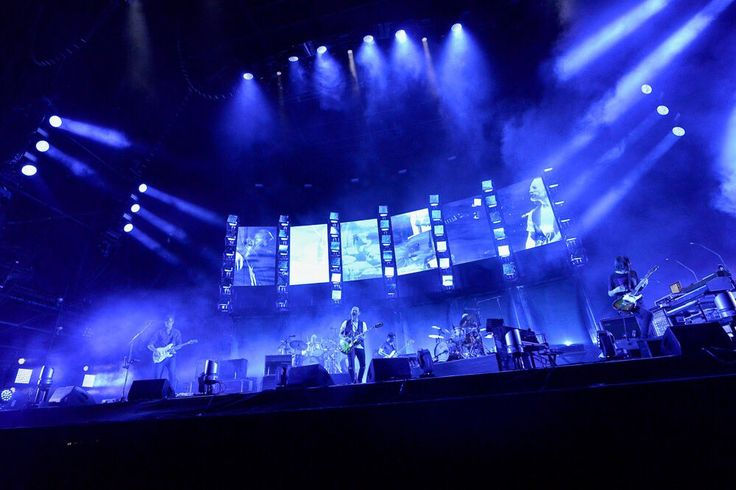 AUG 21 2016 Radiohead at QVC Marine Field, Chiba, Japan