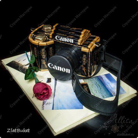 Моделирование - Фотоаппарат из конфет
