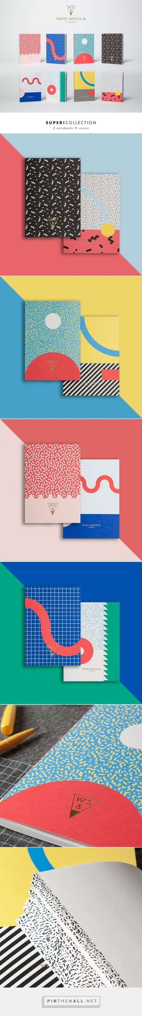 Write Sketch &   Super Collection   Notebooks on Behance - created via http://pinthemall.net