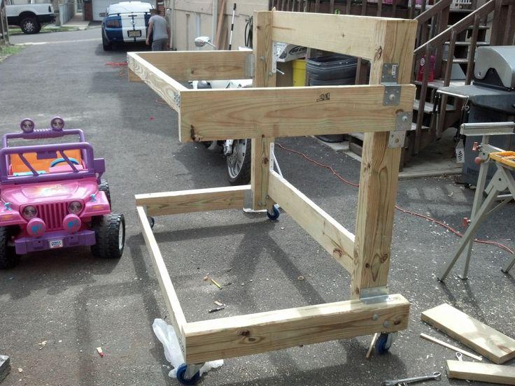 Wooden Kayak Rack Plans