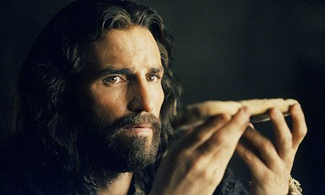 Jim Caviezel as Jesus in Passion Of The Christ