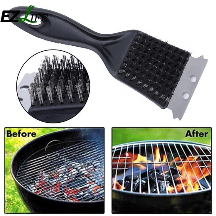EZLIFE high Grade BBQ Grill Brush Pro deep clean steel brush