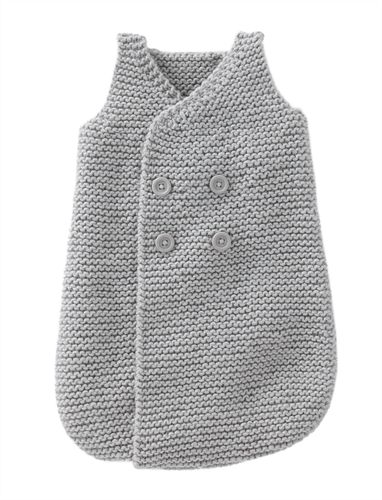 Bergere de France Sleepsack for Boy Pattern