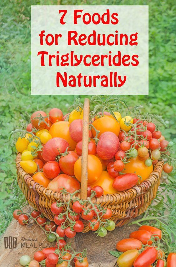 7 Foods for Reducing Triglycerides Naturally Cholesterol
