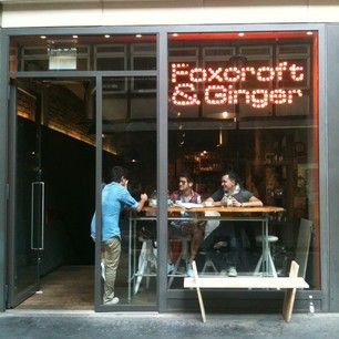 Foxcroft & Ginger (Soho) - Soho, London - 29 Photos - Beanhunter