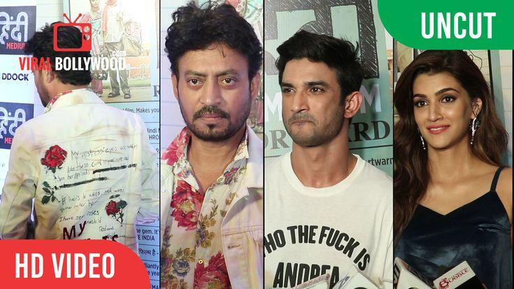 UNCUT - #HindiMedium Movie #SuccessParty   #IrrfanKhan, #SushantSinghRajput, #KritiSanon