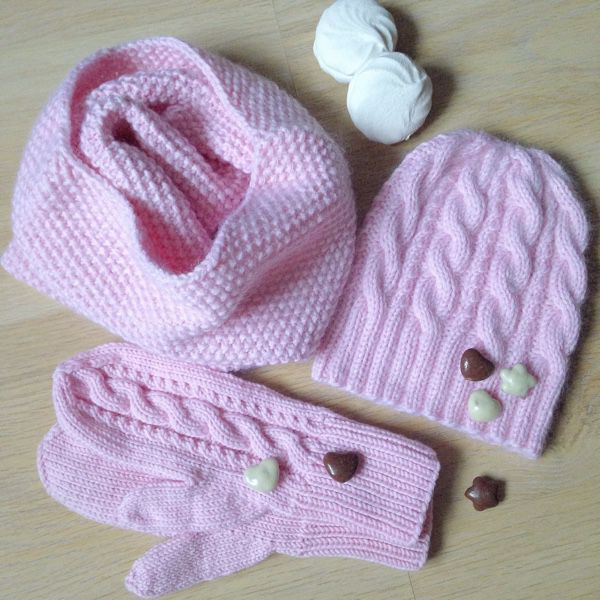 Купить Вязаные комплекты - шапка, шапка вязаная, шапка женская, шапка зимняя…