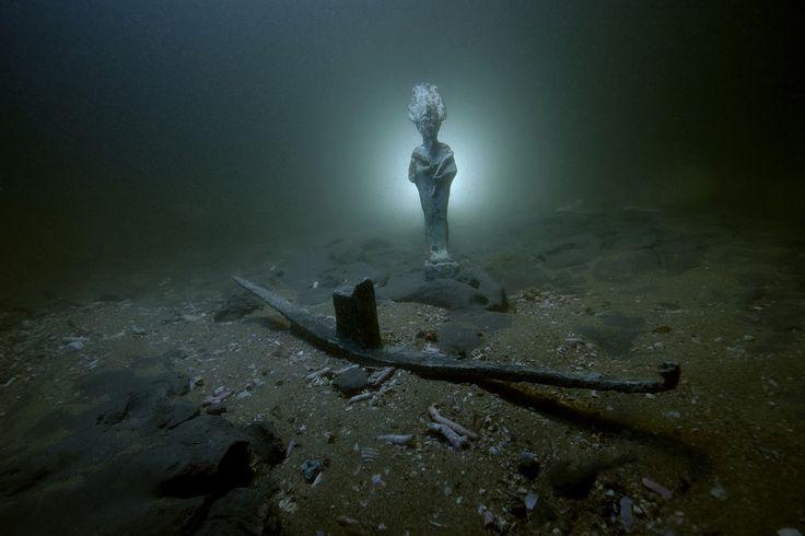 Τα αριστουργήματα μιας αρχαίας πόλης βυθισμένης στο Νείλο πρώτη φορά στο φως