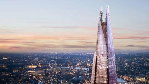 """Piano, dalla """"scheggia"""" di Londra, nasce la Mini Shard. Londra - Dopo lo Shard, il mini Shard. L'architetto italiano Renzo Piano firmerà una versione ridotta dell'edificio inaugurato lo scorso anno e diventato da subito tra i simboli più riconoscibili dello skyline londinese. http://dottoricommercialistilondra.blogspot.co.uk/2014/01/londra-nasce-la-mini-shard.html"""