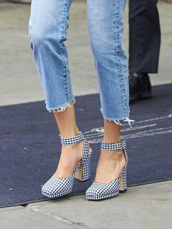 Bella Hadid w butach z Zary