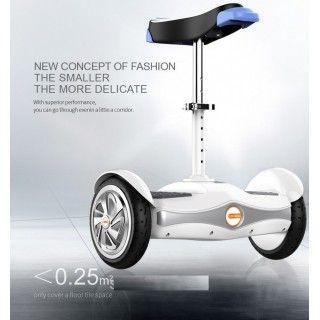 Bluetooth smart auto-équilibrage électrique avec siège pour la ville transporteur personnel hoverboard