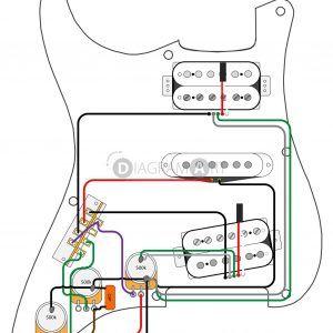 Wiring Diagram Fender Strat 5 Way Switch New Hsh Wiring Diagram for Stratocaster  Wiring Diagram Update - MorningCulture.co   Gitar, MüzikPinterest