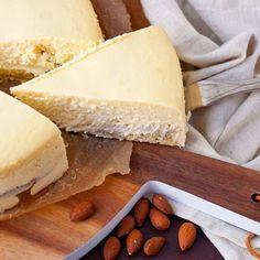 Marzipan-Käsekuchen!  #käsekuchen