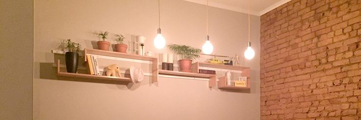 Another shelving setup for your home.