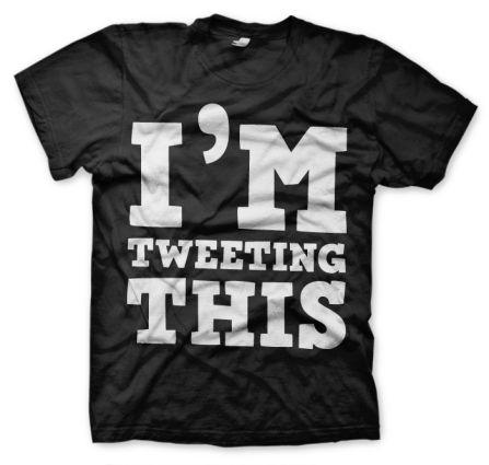 Someone. . .anyone? 10 Terrific Twitter T-Shirts