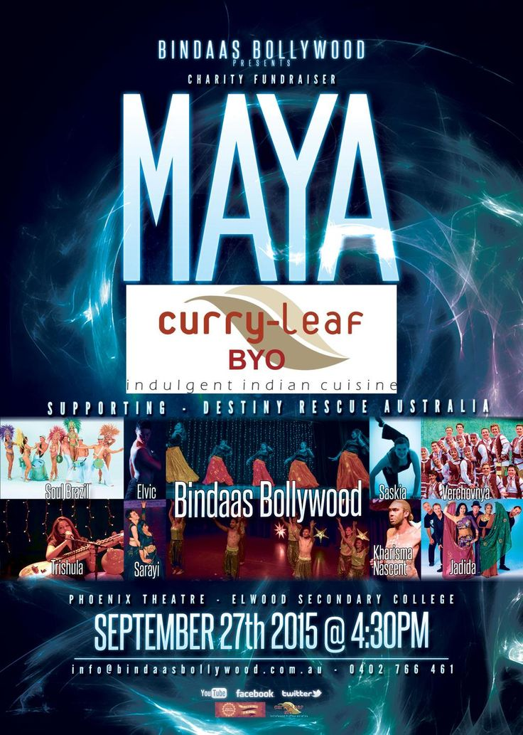 Elwood Charity Event MAYA CurryLeaf is