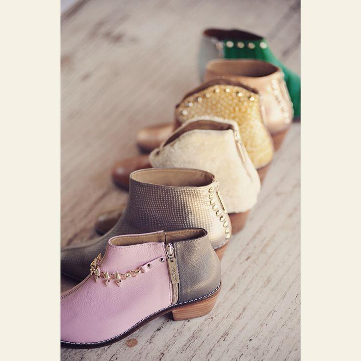Mikiandchoya boots shoes design fashion