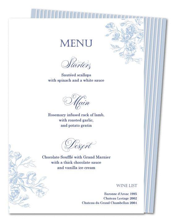 Best 25+ Wedding breakfast menus ideas on Pinterest Bridal - menu list sample