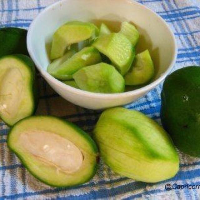Mangitos verdes q delicia!!!