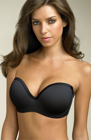 Finally I found this, my life is complete!  Best strapless, stays in place, pushes up, believe me on this, I have tried over a millions strapless bras and this by far, is the best!  C cup or bigger, your search is over, you are welcome.