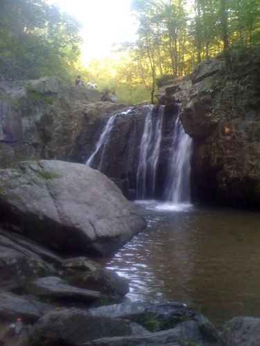 Kilgore Falls - The Second Tallest Falls in Maryland Photo