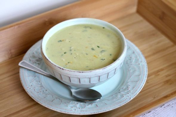 Roasted Poblano and Crab Chowder - This Gal Cooks #dinner #seafood