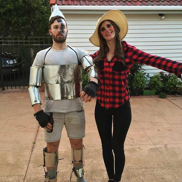 The Wizard of Oz Couple Halloween Costume