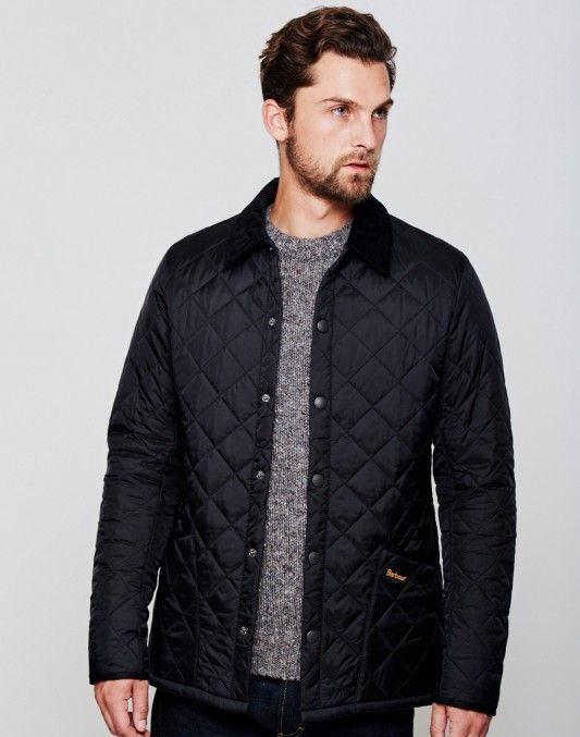 Barbour Heritage Liddesdale Quilted Jacket Black £99.90   Shop Now at TheIdleMan.com   #StyleMadeEasy