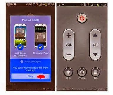 Cara Membuat Hp Android Jadi Remote TV