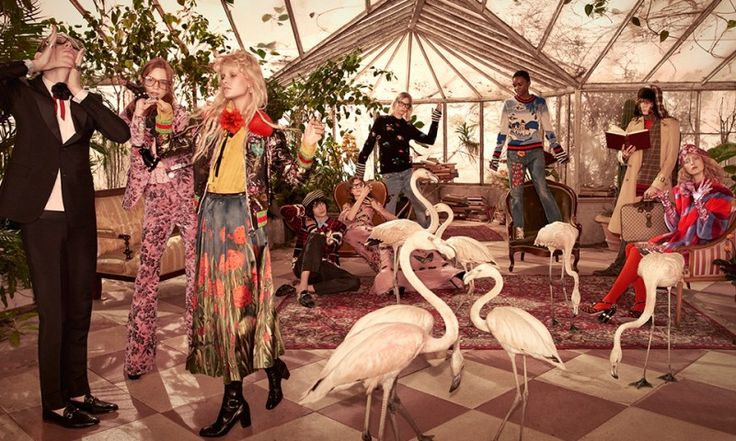 Gucci Conjures up a Tropical Birdhouse With Pre-Fall 2016 Campaign