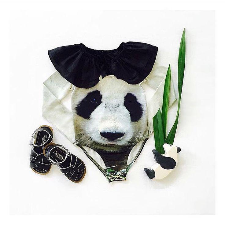 Popupshop panda gymsuit via www.miniwildchild.com.au