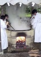 陸奥国一宮 鹽竈神社(志波彦神社、塩釜神社) 藻塩焼神事