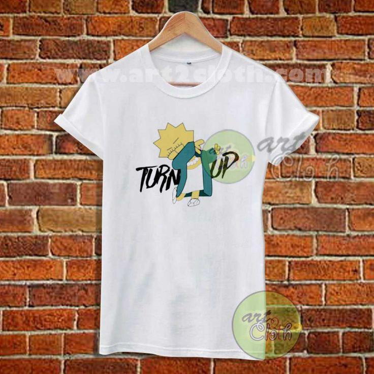 Lisa Simpson Turn Up T Shirt