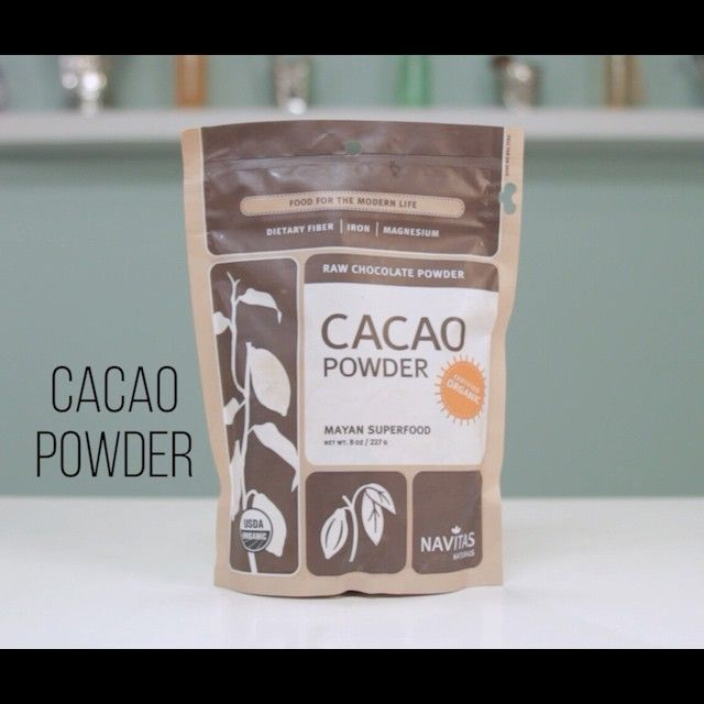 DIY Bronzer with lotion and cacao powder.