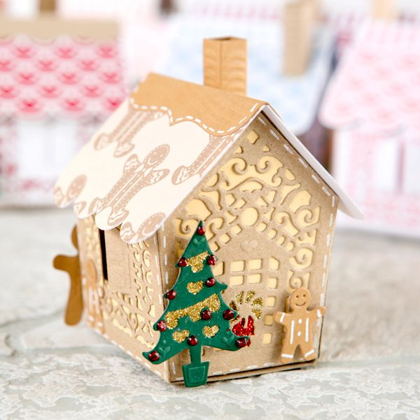 29 best 3d Houses Tonic Gingerbread House images on Pinterest ...