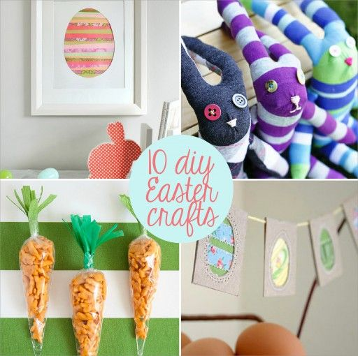 Free Kids Easter Paper Crafts