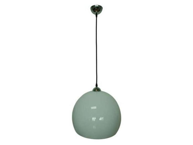 Beautiful suspension pvc cm blanc luz vente de luminaire for Lampe papier castorama