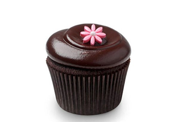 Oprah cocktail and cupcake pairing: Chocolate squared cupcakes and cabernet sauvignon