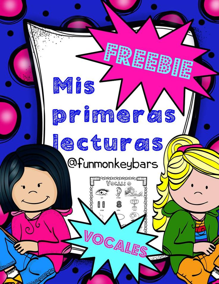 Freebie alert! Spanish teachers this is great for young learners who start reading in Spanish. Dual immersion, bilingual and native speakers
