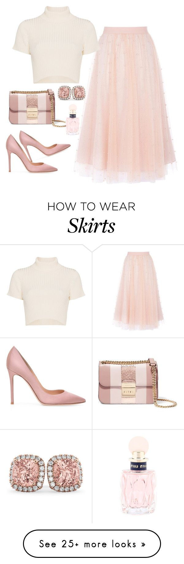 """Untitled #637"" by aida0488 on Polyvore featuring Staud, MICHAEL Michael Kors, Allurez and Miu Miu"