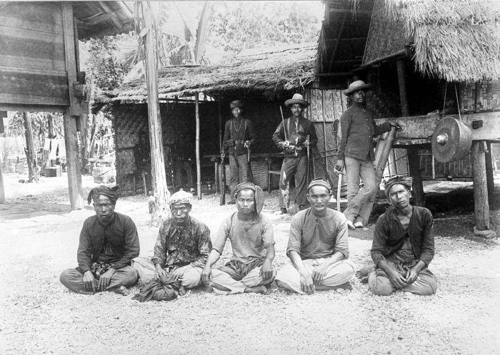 Gajo-mannen met Javaans bloed