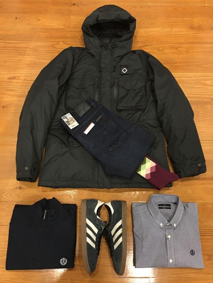 "Blog #RivendelMadrid ""British Outfit @henrilloyd63 ""  #mastrum #cazadora #jacket #henrilloyd #jersey #jumper #camisa #shirt #nudiejeans #pantalones #denim #adidasoriginals #zapatillas #footwear #happysocks #calcetines #socks #guardarropa #wardrobe #madrid http://www.rivendelmadrid.es/blog/"