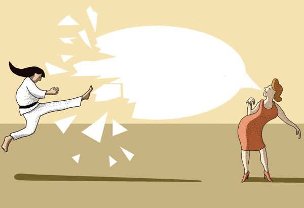 """The Perfect Comeback  Cutting remarks, """"helpful"""" suggestions, subtle (or not-so-subtle) stabs—how to handle these verbal ambushes? You can slink away, lose your cool...or employ Martha Beck's cleverly adapted martial arts techniques to turn your attackers' words against"""