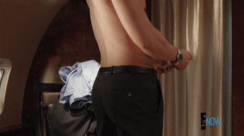 "William Moseley shirtlesss on ""The Royals"""