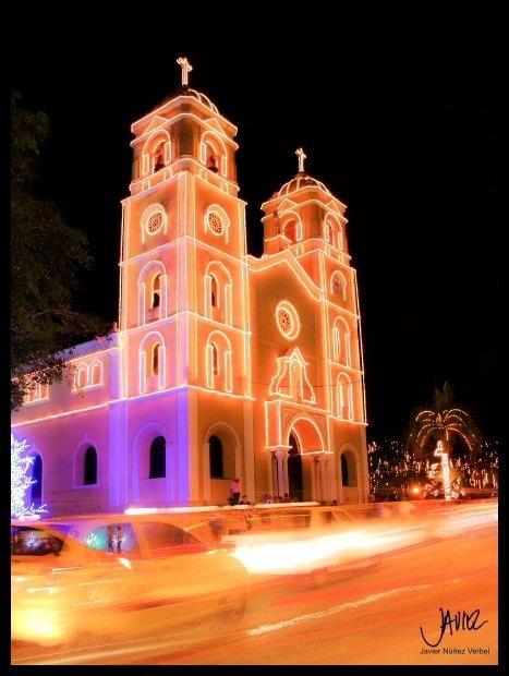 Catedral de Sincelejo en Navidad