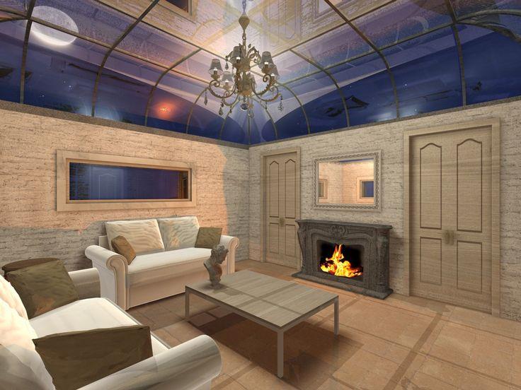 #Rendering #Interiordesign Casetta di campagna
