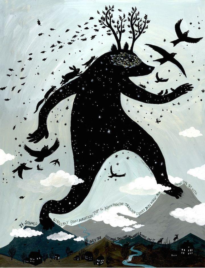 Fantastical Illustrations of Dreamy Worlds by Diana Sudyka - My Modern Metropolis