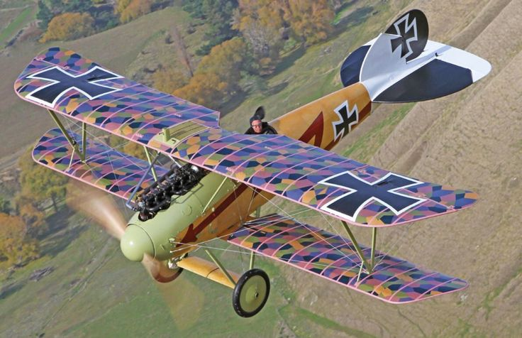 """Beautiful Warbirds — The Albatross. Part of the German """"Flying Circus""""."""